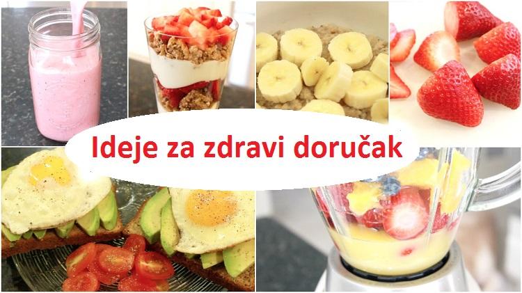 Šta jesti za doručak - ideje za zdrav doručak, recepti i priprema