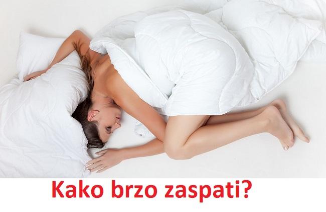 Kako brzo zaspati - efikasni trikovi za brzo uspavljivanje