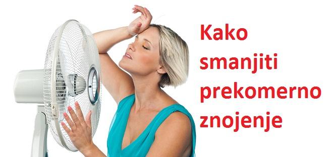 Kako smanjiti prekomerno znojenje ispod pazuha i noćno znojenje
