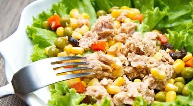 Salata od tunjevine - kalorije i recepti