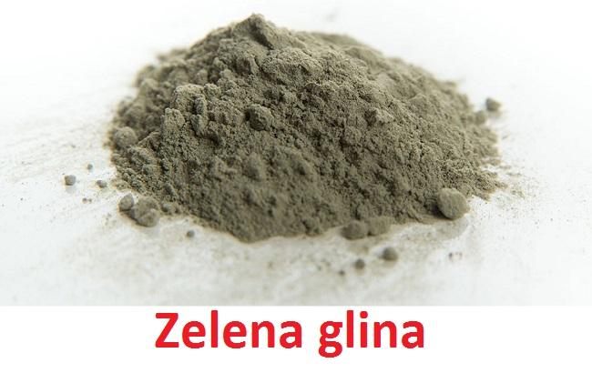 Zelena glina - upotreba za lice, kosu, čišćenje organizma i zdravlje