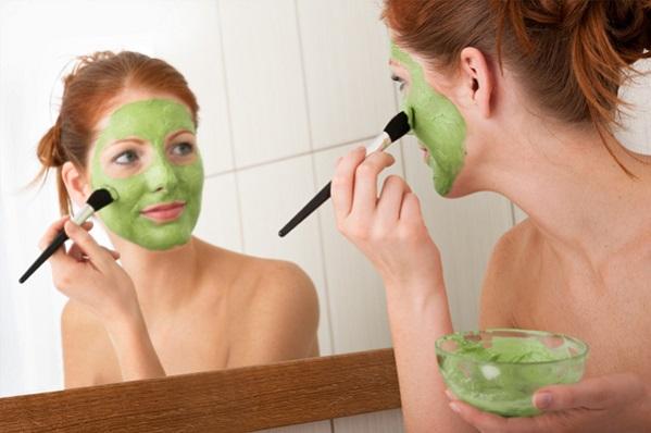 maska od zelene gline recept